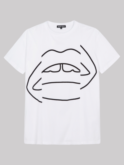Shifted Lip Madison Tee