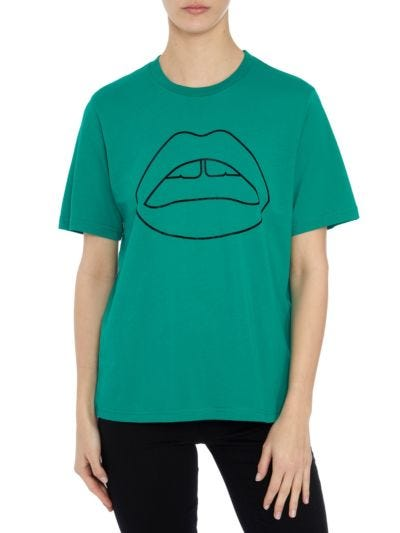 Alex Flock Lip Relaxed-Fit Tee