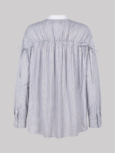 Striped Cotton Paige Shirt