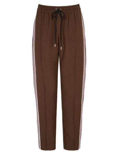 Romy Check Tailoring Jogger