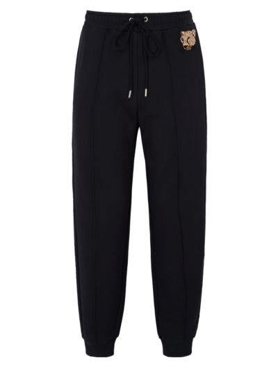 Aliza Sequin Patch Jogger