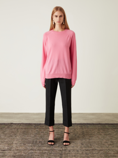 Monica Cashmere Relaxed-Fit Jumper