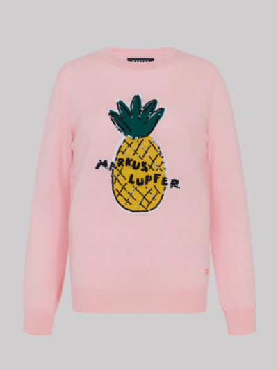 Intarsia Sequin Pineapple Mia Jumper