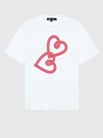 Graphic Two Hearts Alex Tee